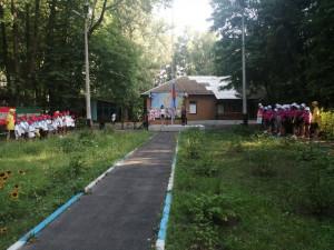 Открытие 3 смены в детском оздоровительном лагере