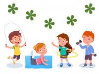 Физическая активность. Комплексы упражнений для детей